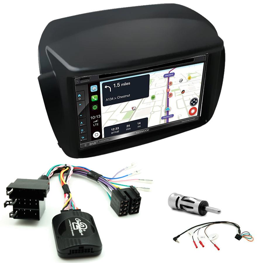 Kit d\'intégration Opel Combo de 2012 à 2015 + Autoradio tactile Navigation GPS
