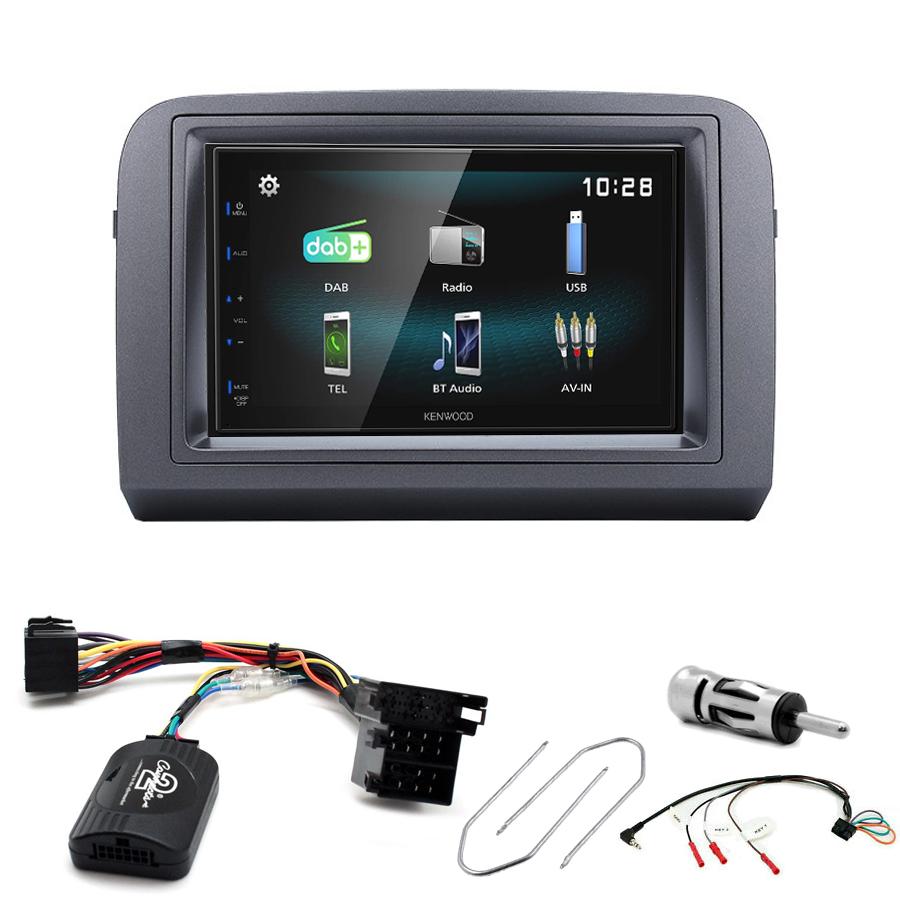 Kit d\'intégration Fiat Croma + Autoradio multimédia à écran tactile