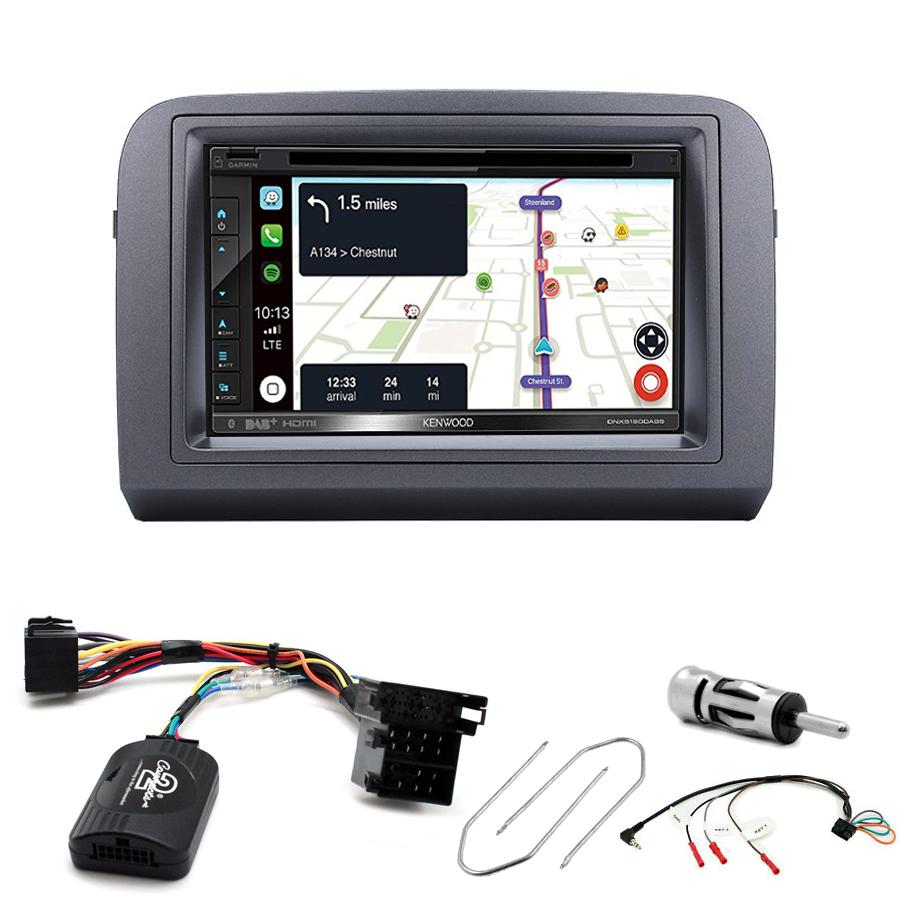 Kit d\'intégration Fiat Croma + Autoradio tactile Navigation GPS