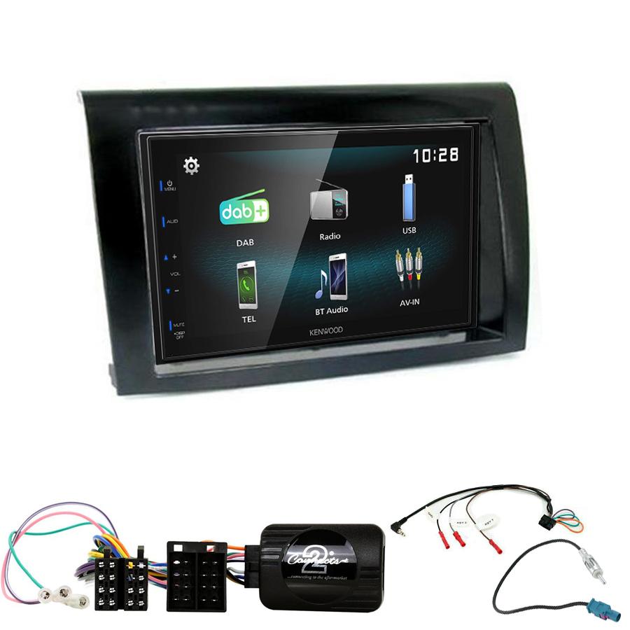 Kit d\'intégration Fiat Bravo + Autoradio multimédia à écran tactile
