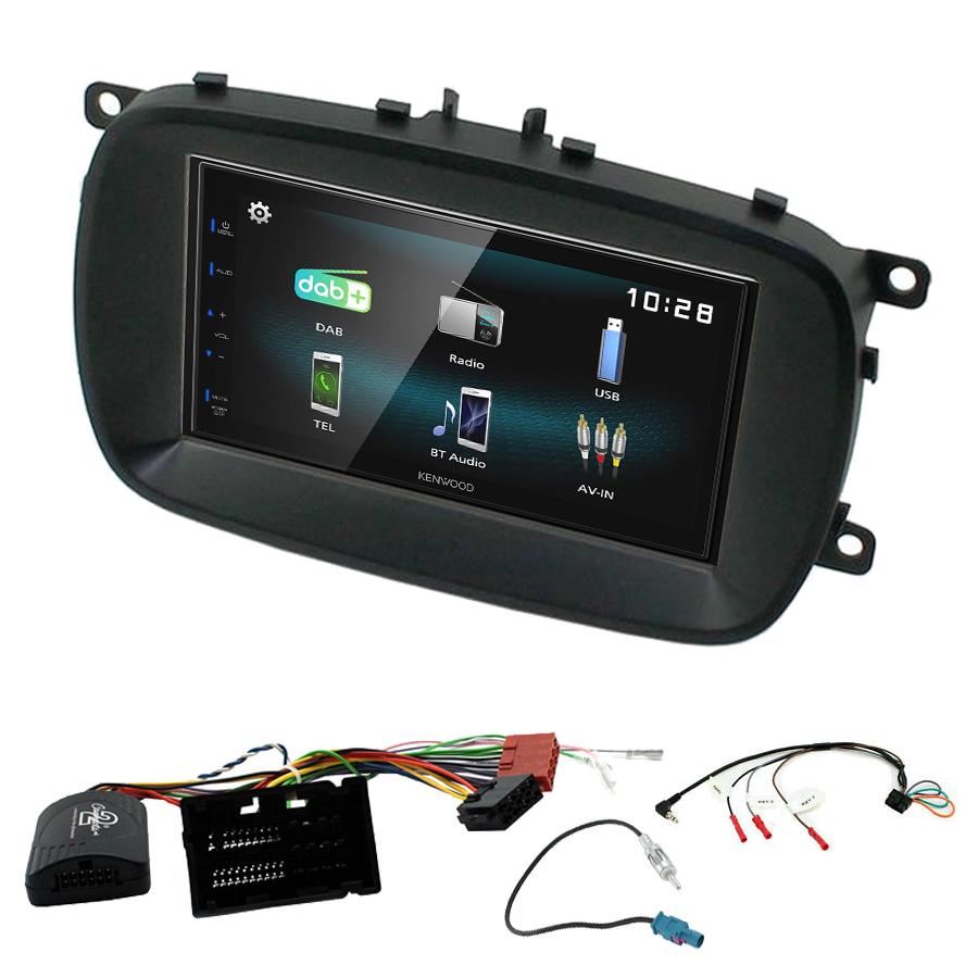 Kit d\'intégration Fiat 500X + Autoradio multimédia à écran tactile