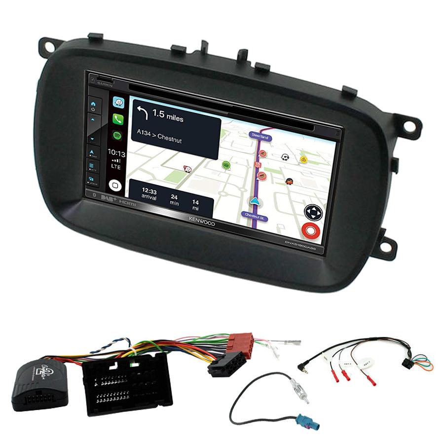 Kit d\'intégration Fiat 500X + Autoradio tactile Navigation GPS