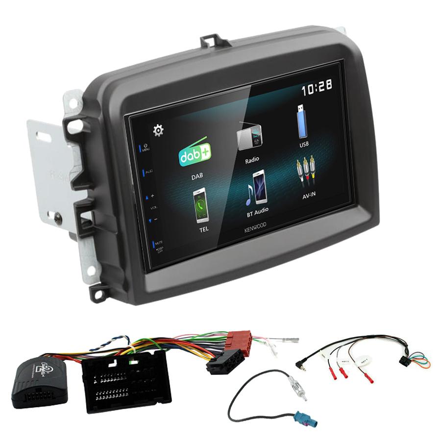 Kit d\'intégration Fiat 500L + Autoradio multimédia à écran tactile
