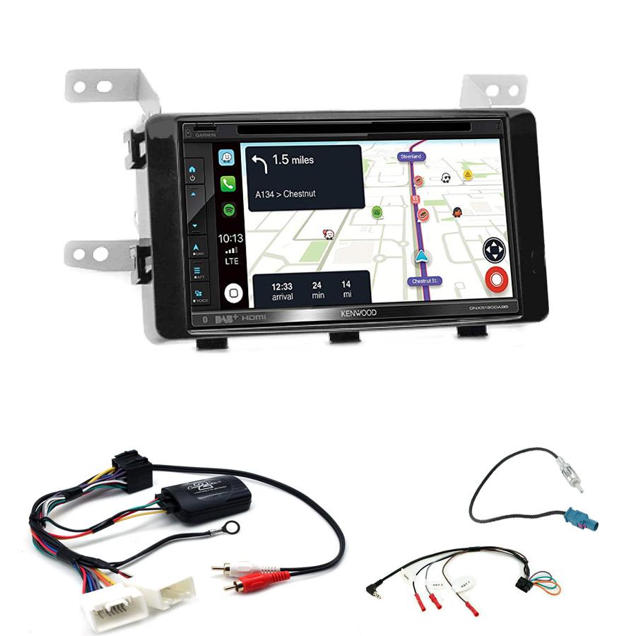 Kit d\'intégration Fiat Fullback + Autoradio tactile Navigation GPS
