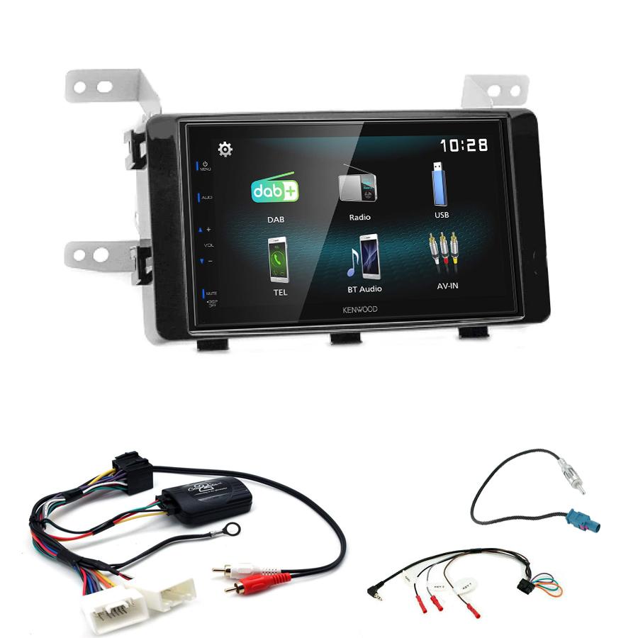 Kit d\'intégration Fiat Fullback + Autoradio multimédia à écran tactile