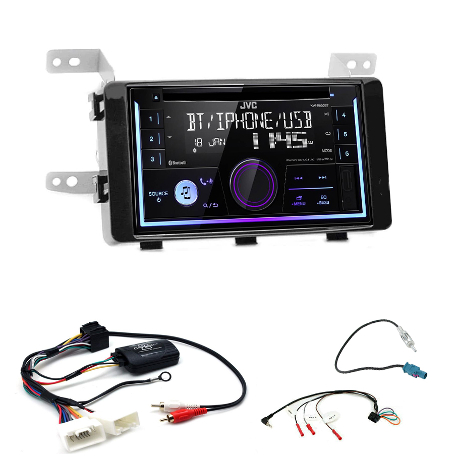 Kit d\'intégration Fiat Fullback + Autoradio multimédia USB/Bluetooth