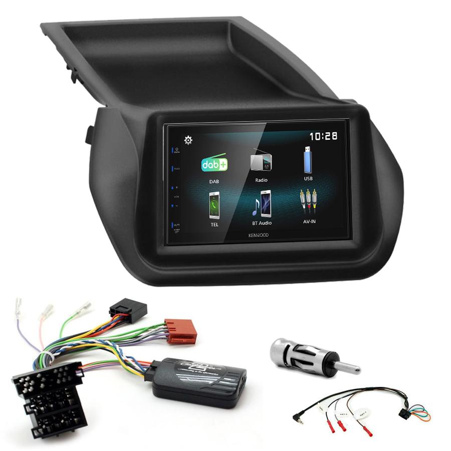 Kit d\'intégration Fiat Fiorino et Qubo + Autoradio multimédia à écran tactile