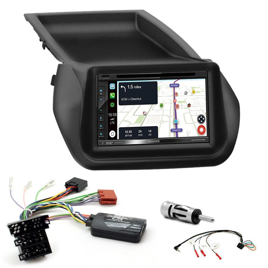 Kit d\'intégration Fiat Fiorino et Qubo + Autoradio tactile Navigation GPS