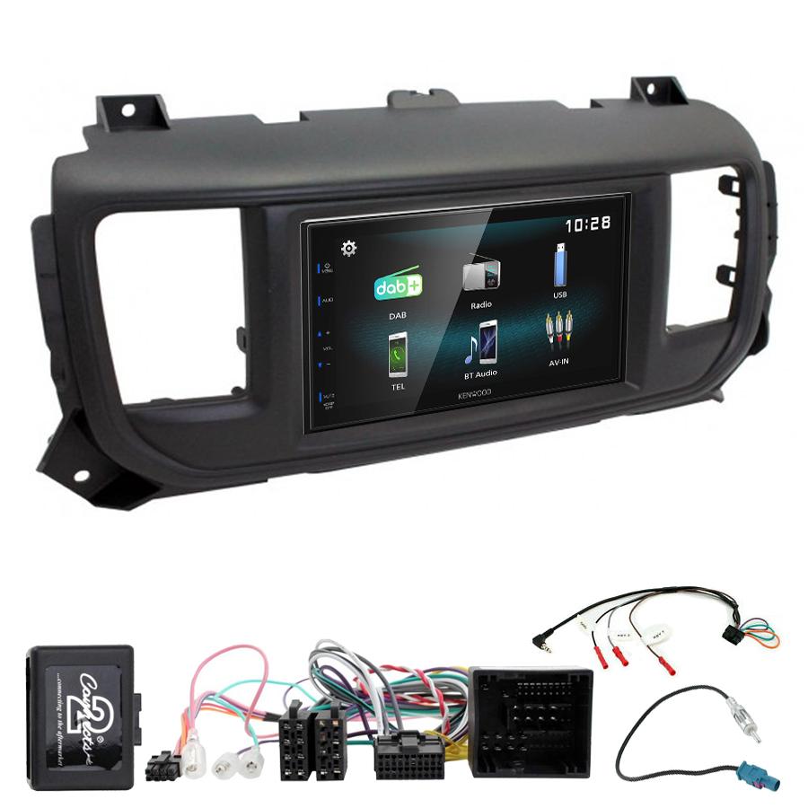 Kit d\'intégration Toyota Proace + Autoradio multimédia à écran tactile