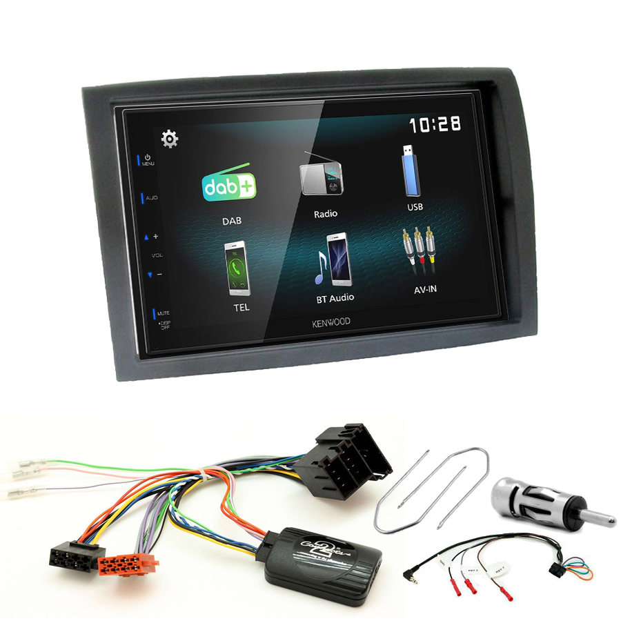 Kit d\'intégration Citroën Jumper depuis 2006 + Autoradio multimédia à écran tactile