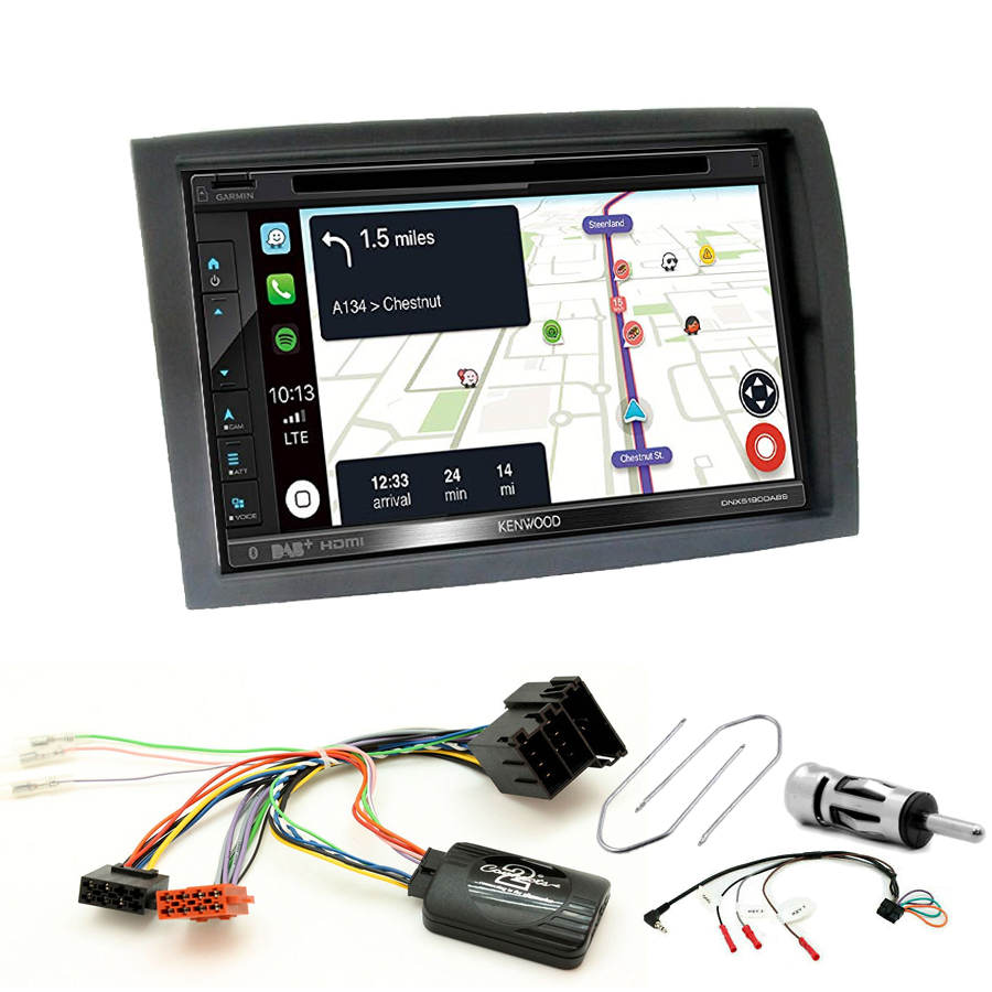 Kit d\'intégration Citroën Jumper depuis 2006 + Autoradio tactile Navigation GPS