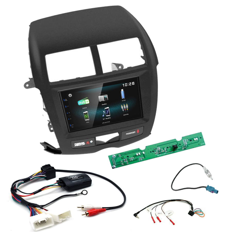 Kit d\'intégration Citroën C4 Aircross + Autoradio multimédia à écran tactile