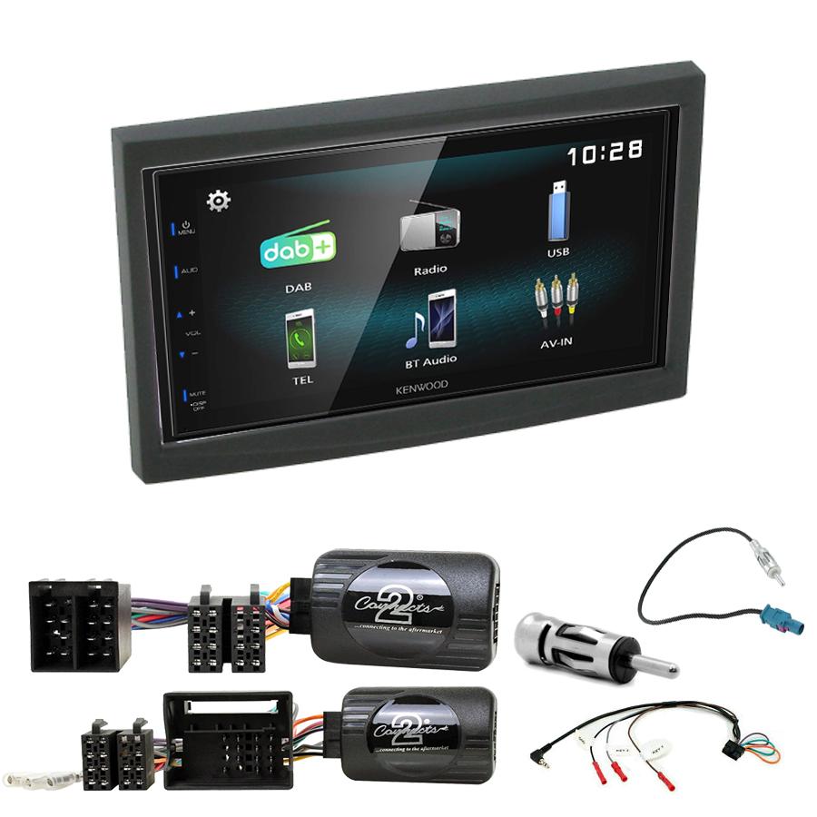 Kit d\'intégration Peugeot 207 307 3008 5008 Expert Partner + Autoradio multimédia à écran tactile