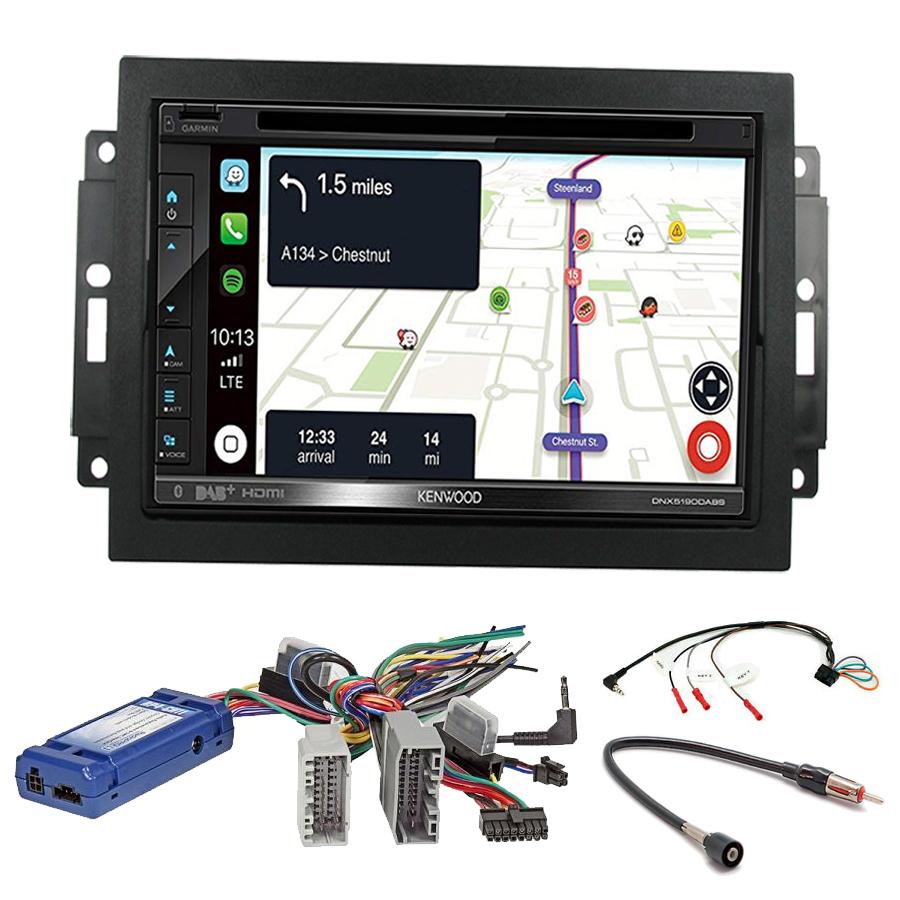 Kit d\'intégration Chrysler 300C et Aspen + Autoradio tactile Navigation GPS