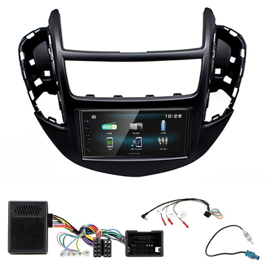 Kit d\'intégration Chevrolet Trax de 2013 à 2017 + Autoradio multimédia à écran tactile