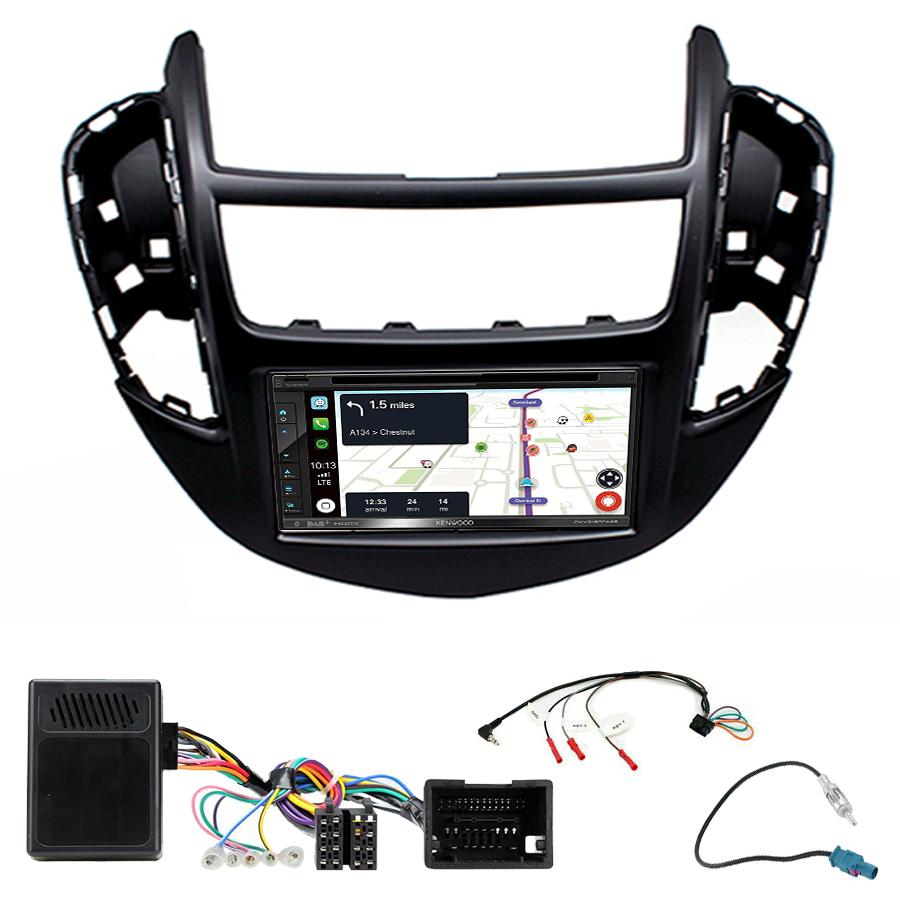 Kit d\'intégration Chevrolet Trax de 2013 à 2017 + Autoradio tactile Navigation GPS