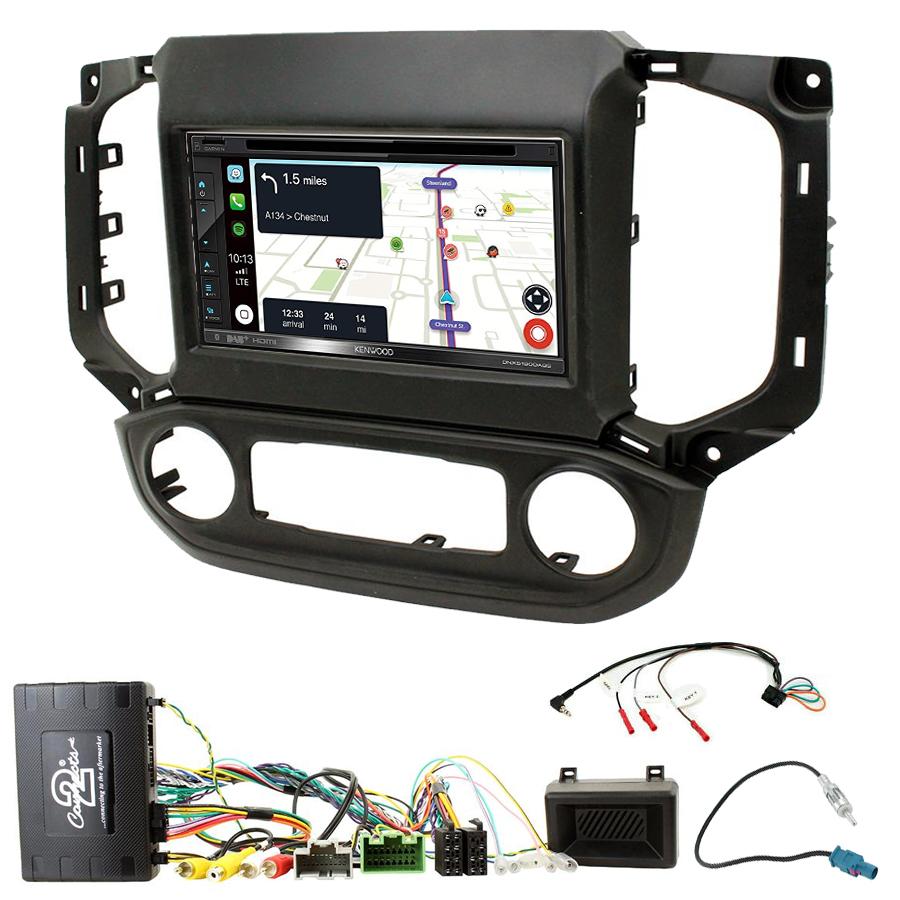 Kit d\'intégration Chevrolet Colorado et S10 + Autoradio tactile Navigation GPS