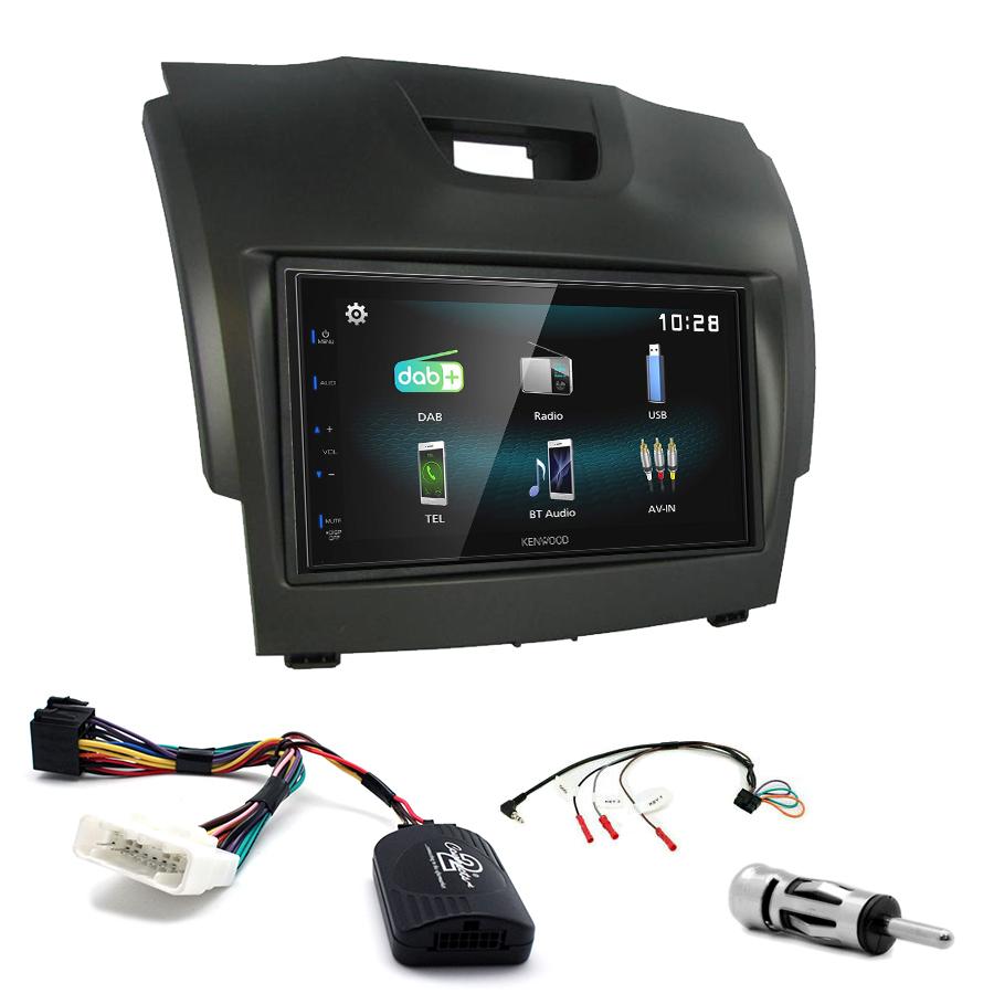 Kit d\'intégration Isuzu D-Max + Autoradio multimédia à écran tactile