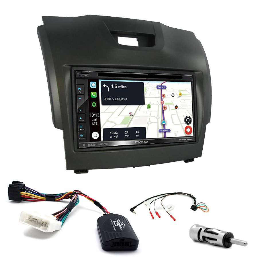 Kit d\'intégration Chevrolet Trailblazer + Autoradio tactile Navigation GPS