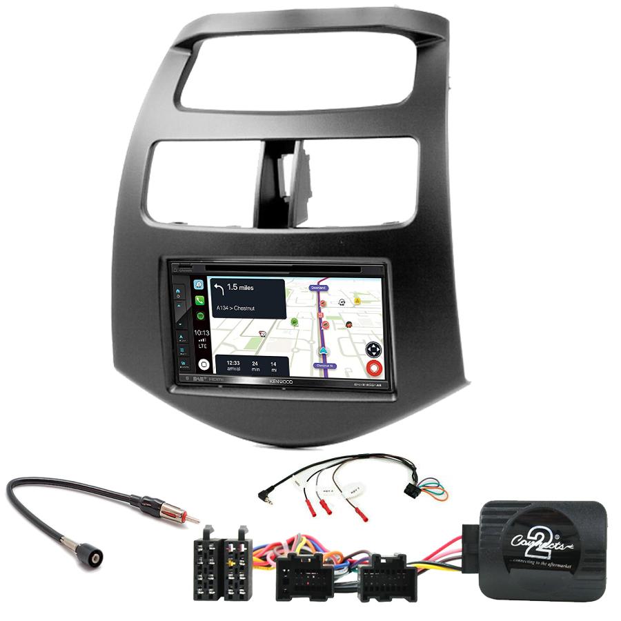 Kit d\'intégration Chevrolet Spark de 2010 à 2015 + Autoradio tactile Navigation GPS