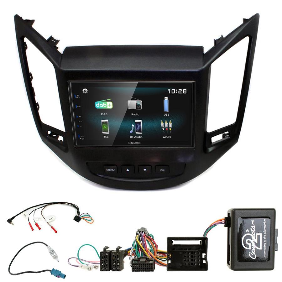 Kit d\'intégration Chevrolet Orlando de 10/2010 à 2018 + Autoradio multimédia à écran tactile