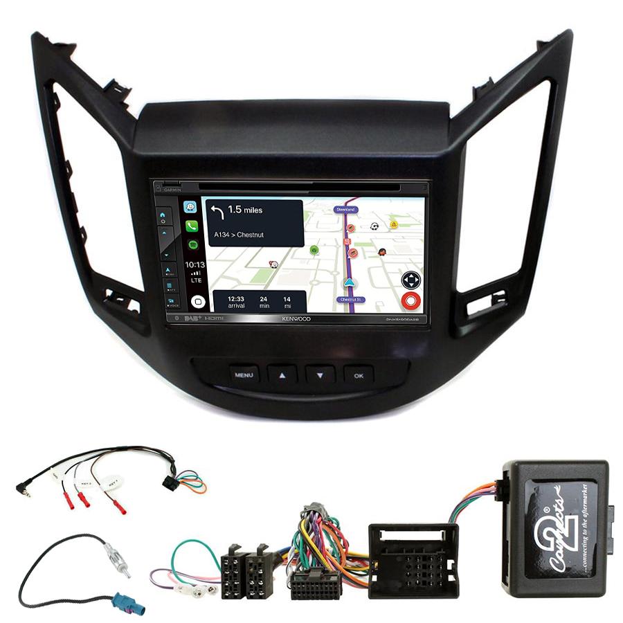 Kit d\'intégration Chevrolet Orlando de 10/2010 à 2018 + Autoradio tactile Navigation GPS