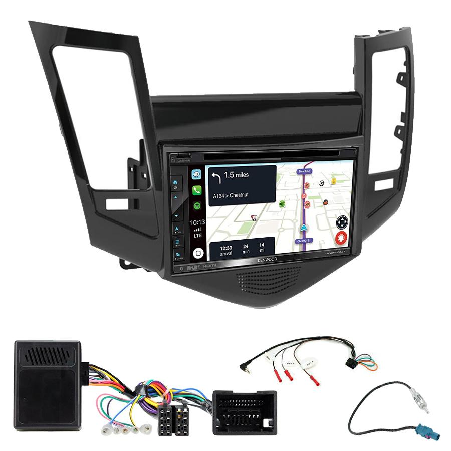 Kit d\'intégration Chevrolet Cruze de 05/2009 à 2012 + Autoradio tactile Navigation GPS