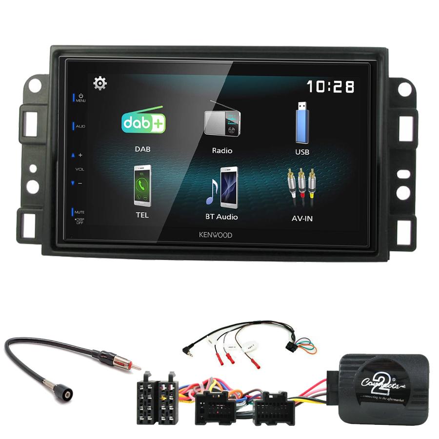 Kit d\'intégration Chevrolet Aveo Captiva et Epica + Autoradio multimédia à écran tactile