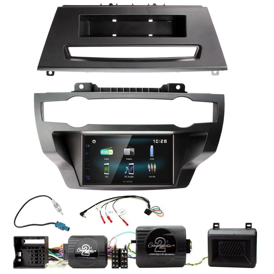 Kit d\'intégration BMW X5 et BMW X6 + Autoradio multimédia à écran tactile