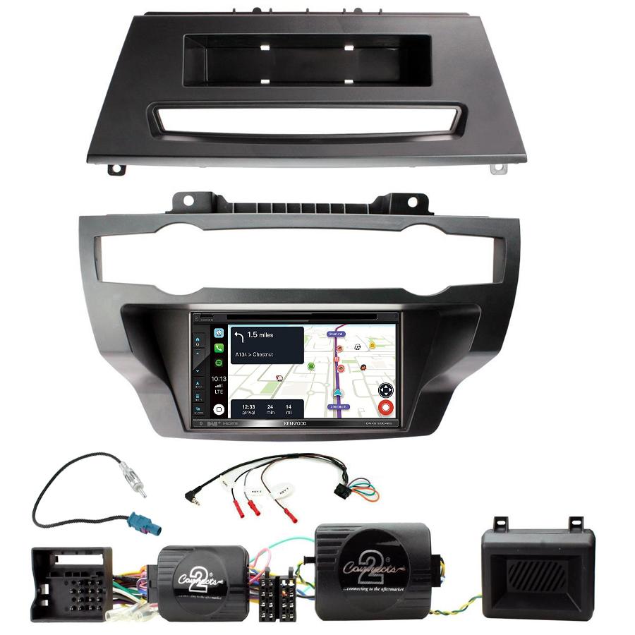 Kit d\'intégration BMW X5 et BMW X6 + Autoradio tactile Navigation GPS