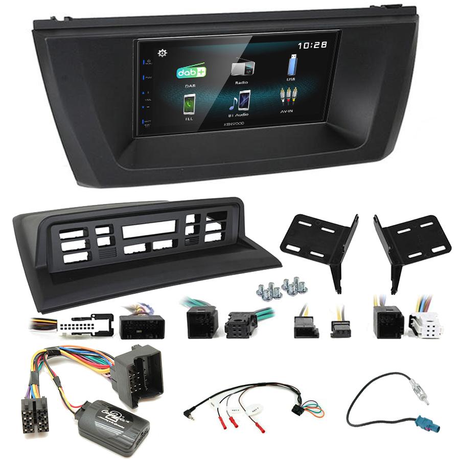 Kit d\'intégration BMW X3 de 2004 à 2010 + Autoradio multimédia à écran tactile