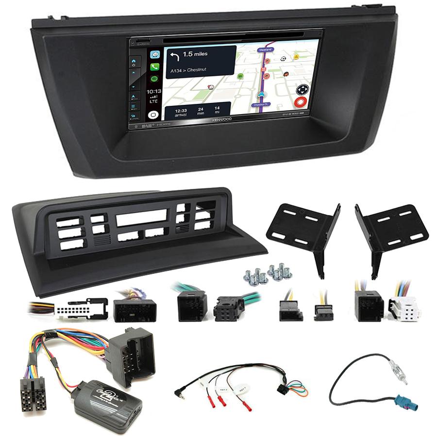 Kit d\'intégration BMW X3 de 2004 à 2010 + Autoradio tactile Navigation GPS