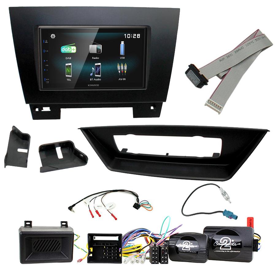 Kit d\'intégration BMW X1 de 2009 à 2015 + Autoradio multimédia à écran tactile
