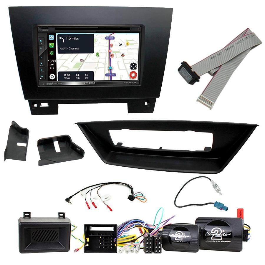 Kit d\'intégration BMW X1 de 2009 à 2015 + Autoradio tactile Navigation GPS