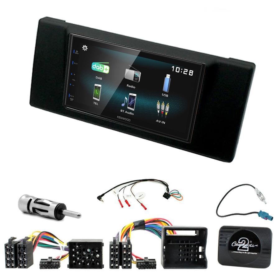 Kit d\'intégration BMW Série 5 E39 + Autoradio multimédia à écran tactile