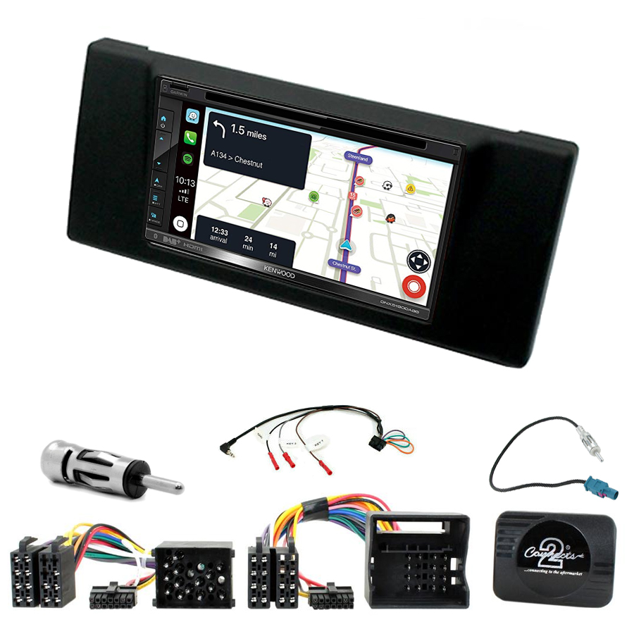 Kit d\'intégration BMW Série 5 E39 + Autoradio tactile Navigation GPS