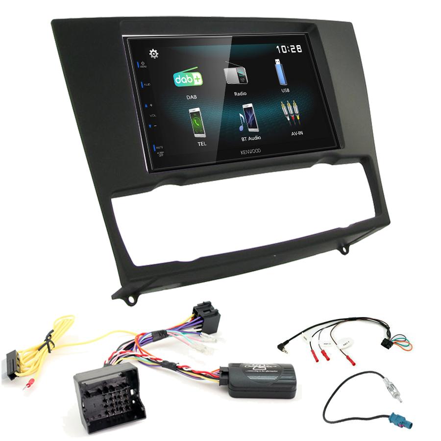 Kit d\'intégration BMW Série 3 de 2005 à 2012 + Autoradio multimédia à écran tactile