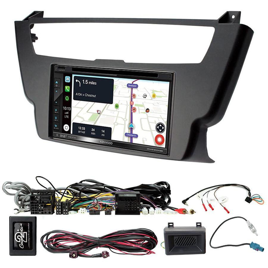 Kit d\'intégration BMW Série 1 de 2012 à 2016 et Série 2 de 2014 à 2019 + Autoradio tactile Navigation GPS