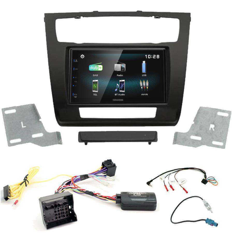 Kit d\'intégration BMW Série 1 + Autoradio multimédia à écran tactile