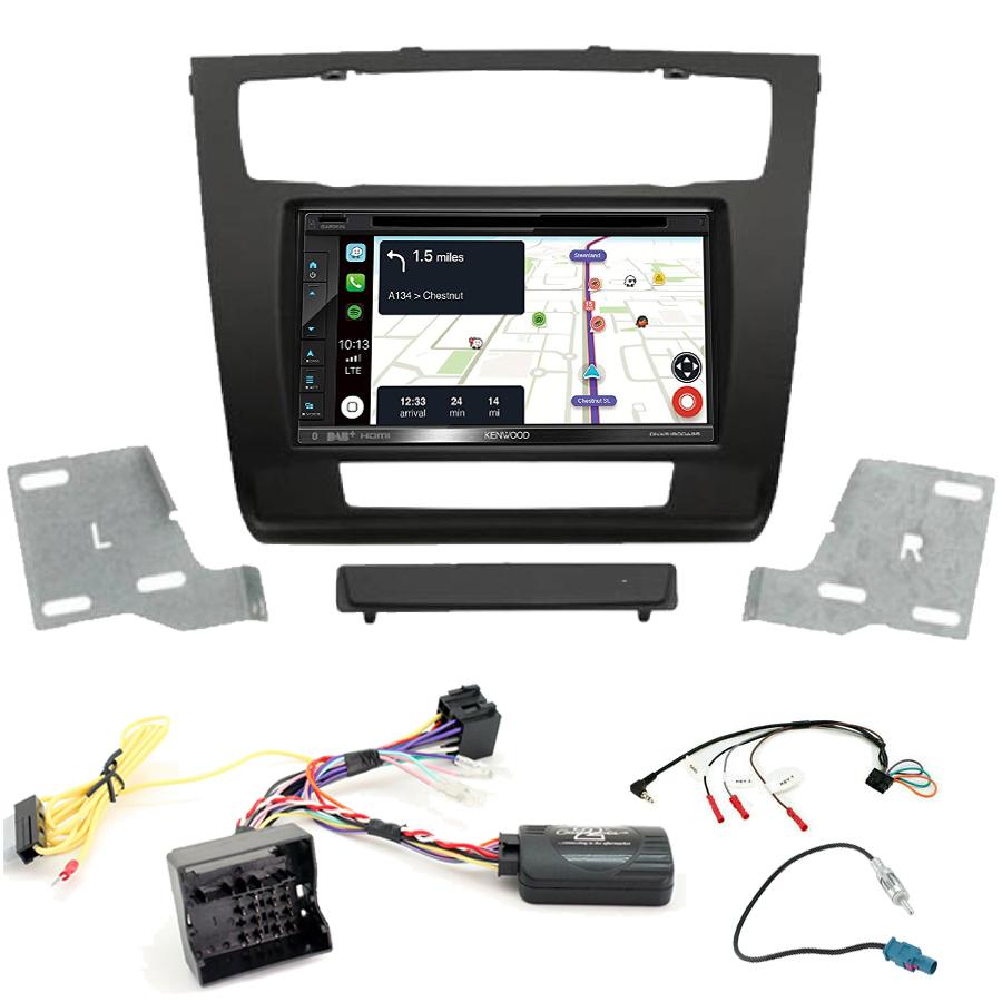 Kit d\'intégration BMW Série 1 + Autoradio tactile Navigation GPS