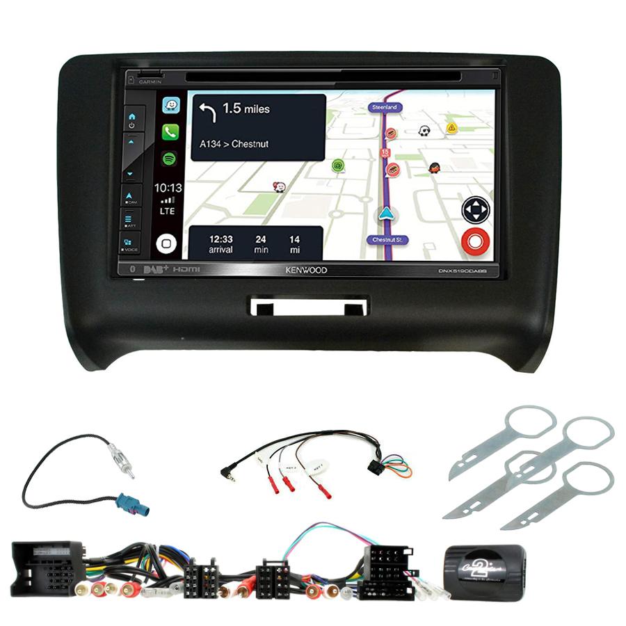 Kit d\'intégration Audi TT + Autoradio tactile Navigation GPS