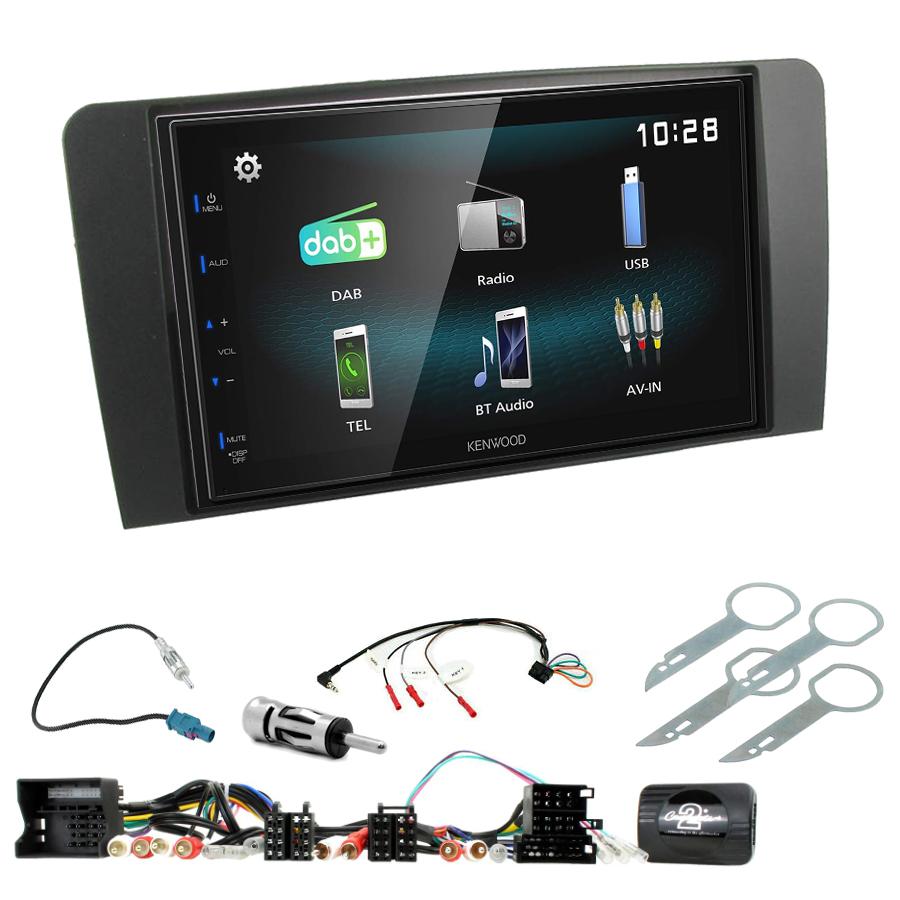 Kit d\'intégration Audi A3 de 2003 à 2012 + Autoradio multimédia à écran tactile