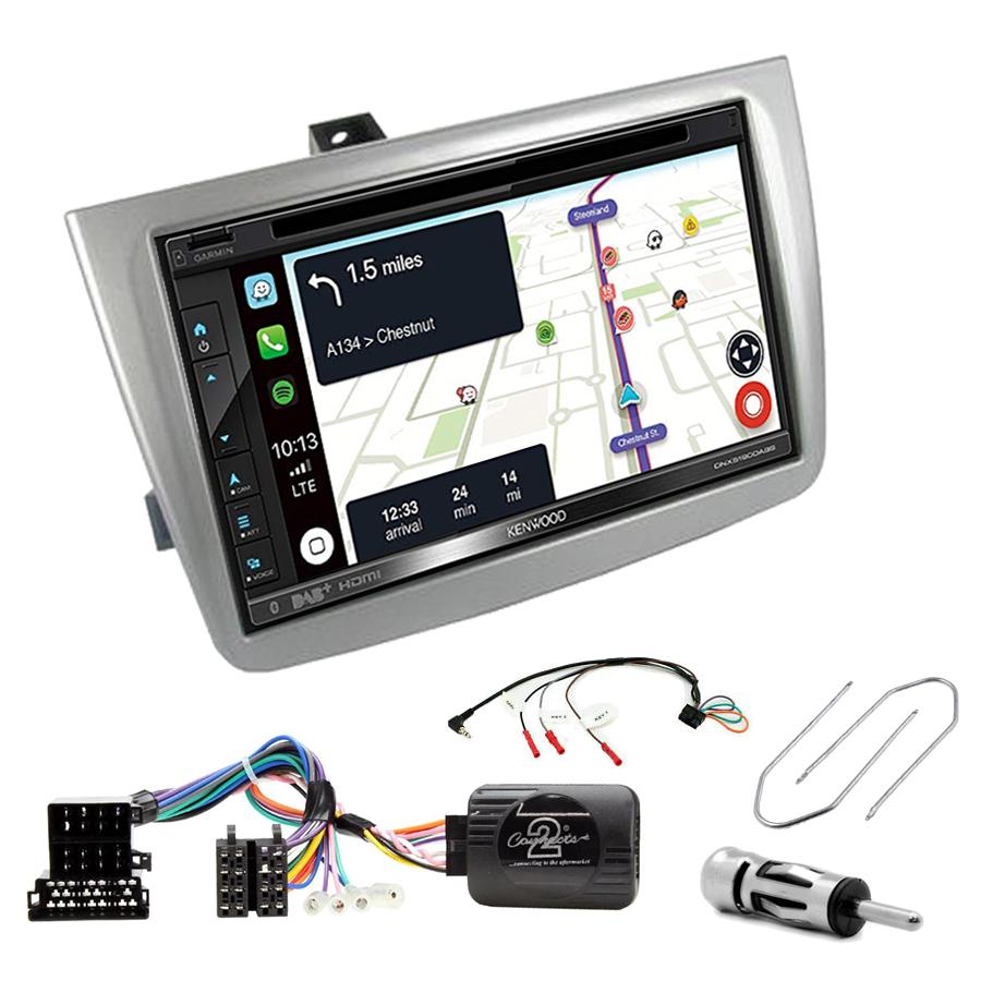 Kit d\'intégration Alfa Romeo Mito de 2008 à 2019 + Autoradio tactile Navigation GPS