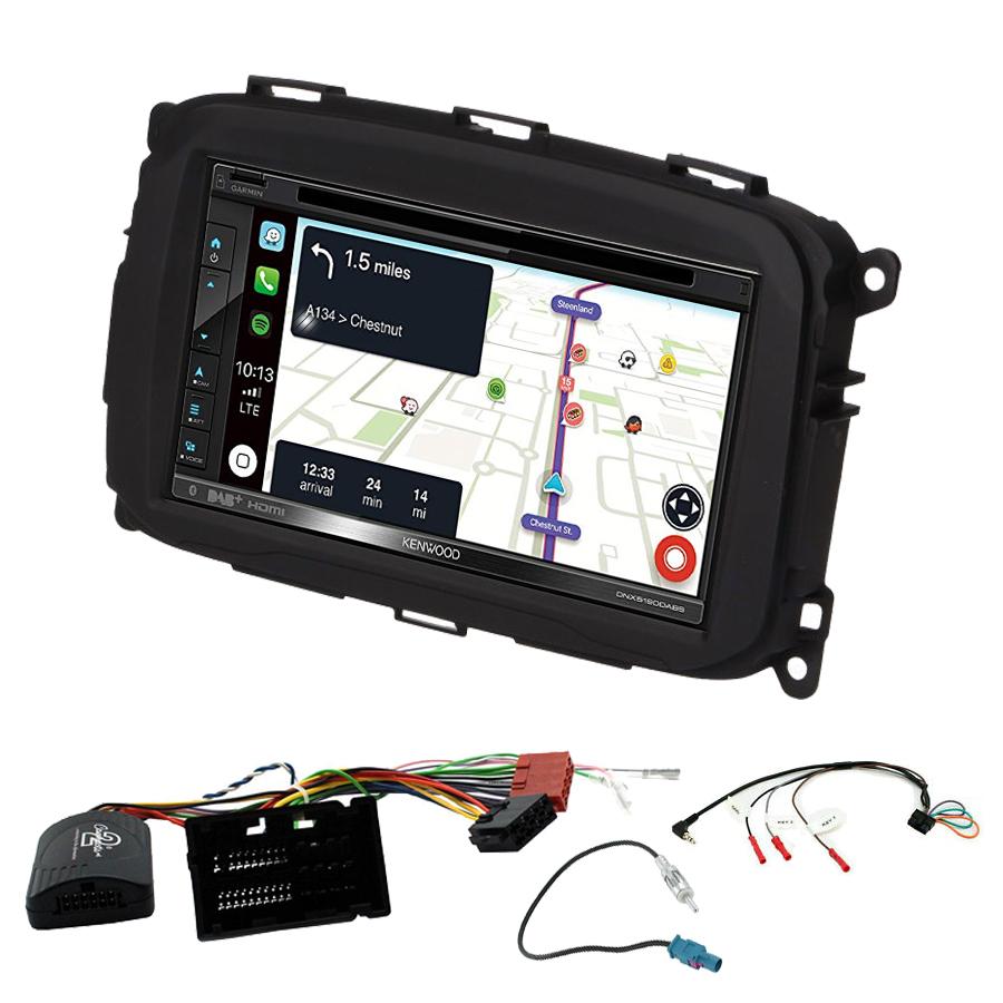 Kit d\'intégration Alfa Romeo Giulietta de 2013 à 2019 + Autoradio tactile Navigation GPS