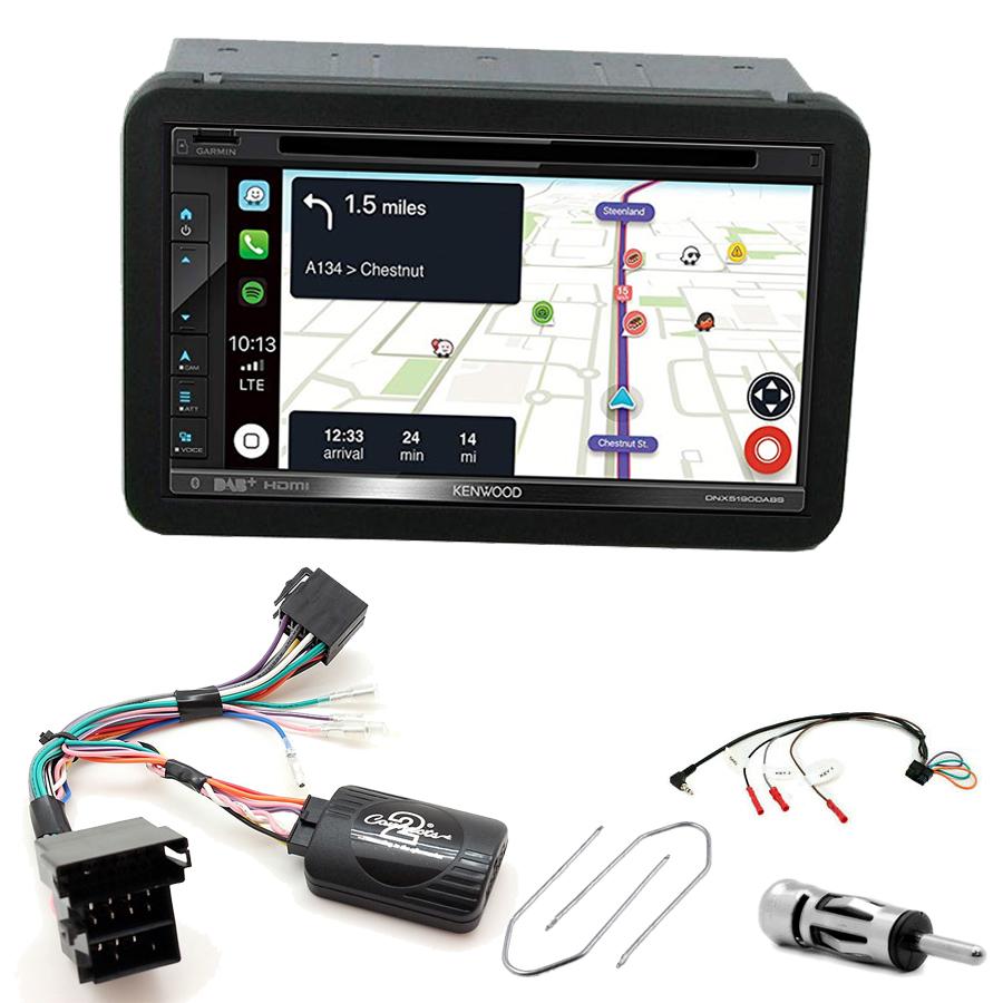 Kit d\'intégration Alfa Romeo 159, Brera et Spider + Autoradio tactile Navigation GPS
