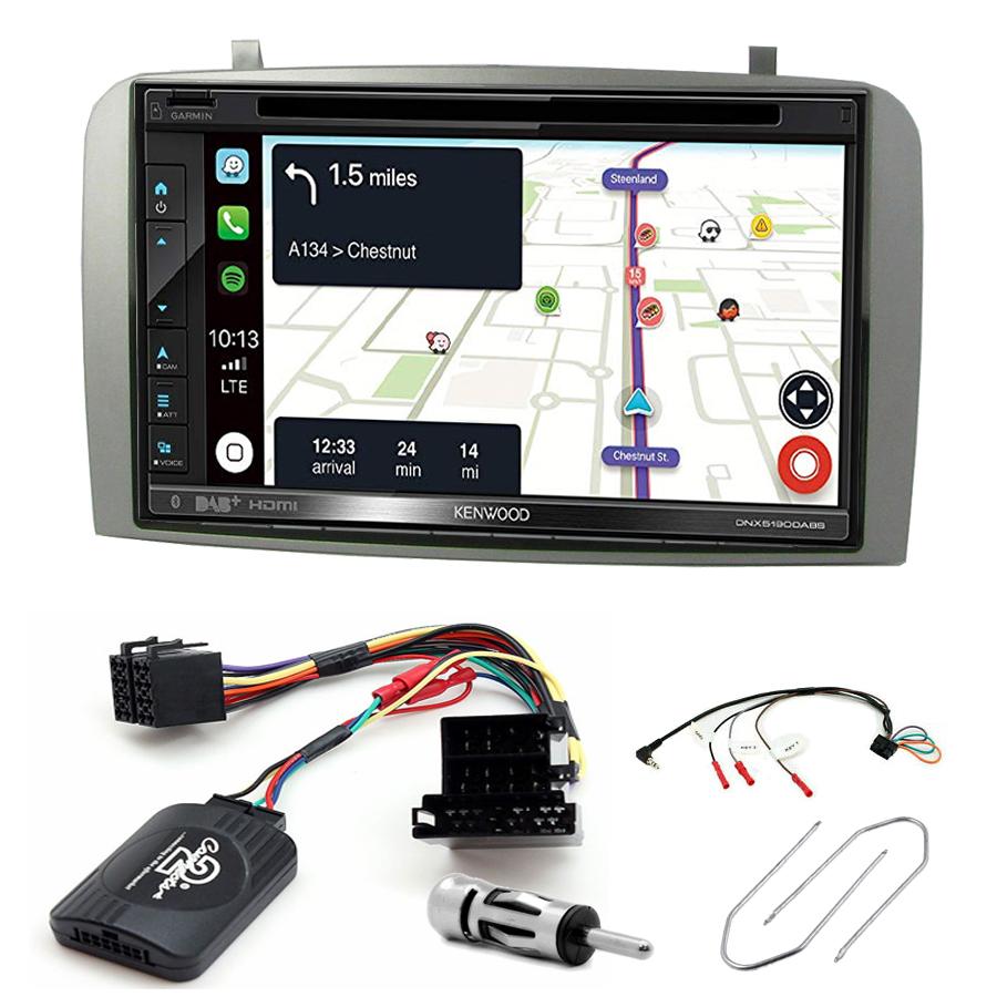 Kit d\'intégration Alfa Romeo 147 et GT + Autoradio tactile Navigation GPS