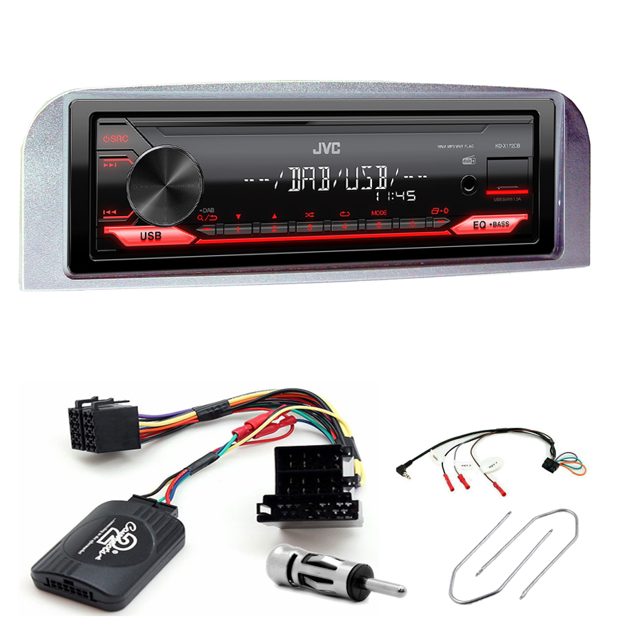 Kit d\'intégration Alfa Romeo 147 et GT + Poste 1DIN USB/Bluetooth