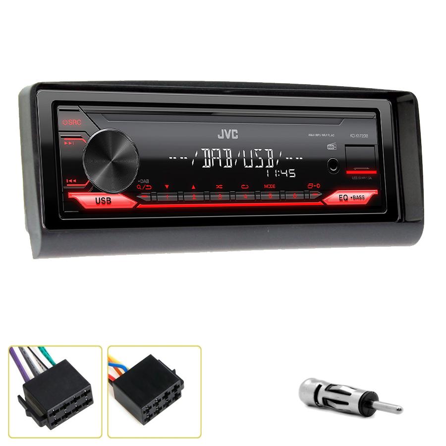 Kit d\'intégration Alfa Romeo 156 et Alfa Romeo GTV + Poste 1DIN USB/Bluetooth