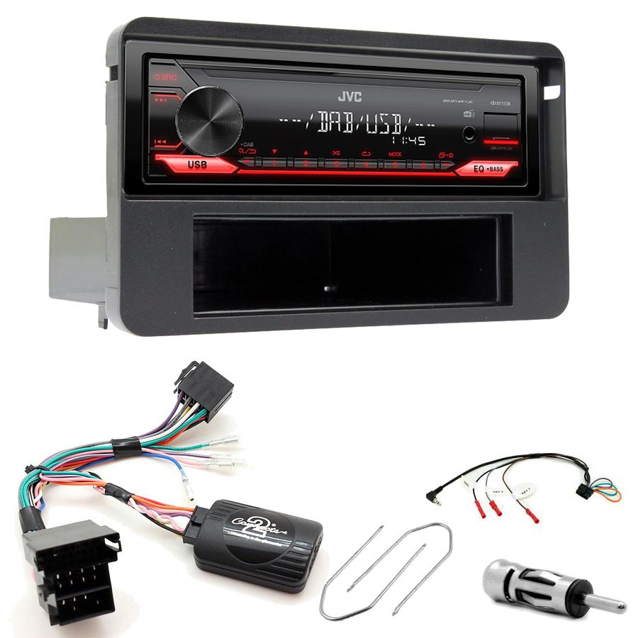 Kit d\'intégration Alfa Romeo Brera, Spider et Alfa Romeo 159 + Poste 1DIN USB/Bluetooth