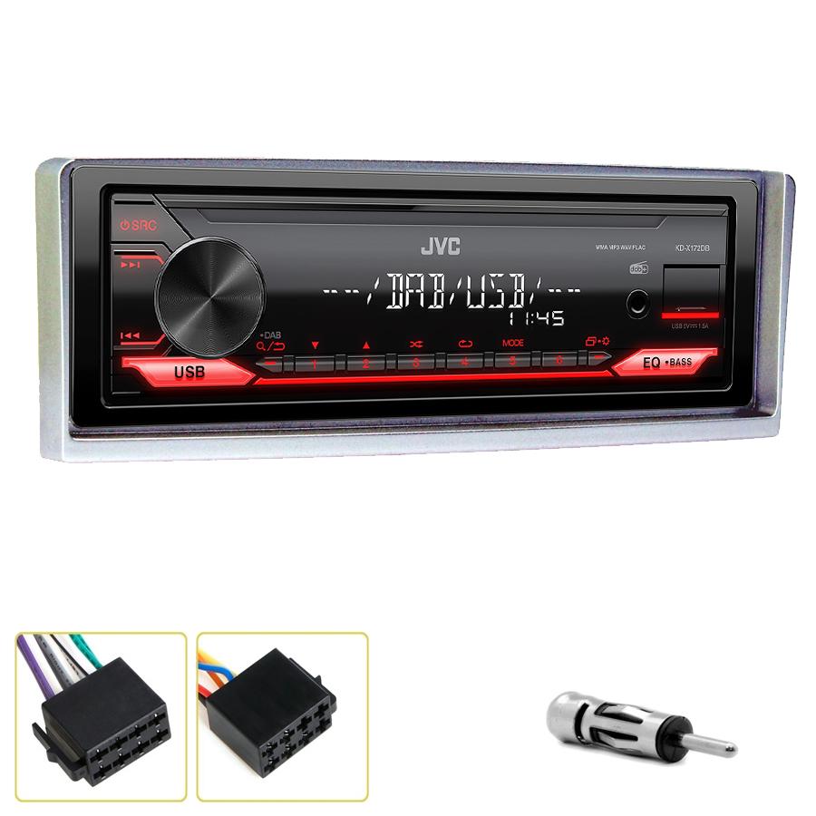 Kit d\'intégration Alfa Romeo 156 de 09/2001 à 2004 + Poste 1DIN USB/Bluetooth